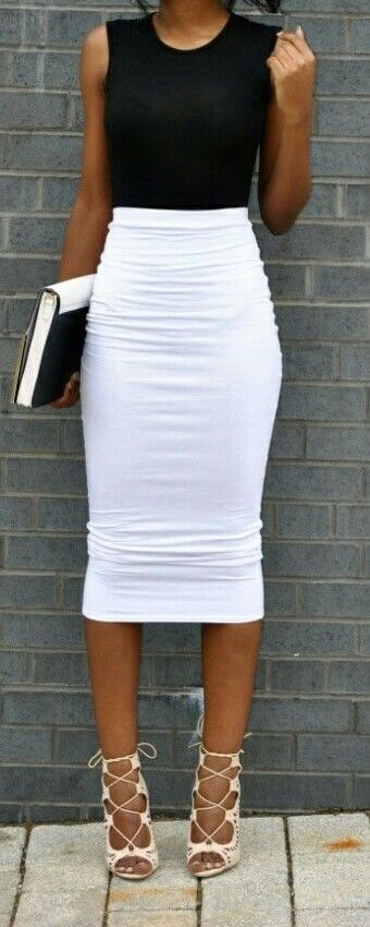 Best 25 White Pencil Skirts Ideas On Pinterest  Fall -4383
