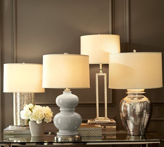 Love these lamps for bedroom - Alexis Ceramic Table Lamp Base | Pottery Barn