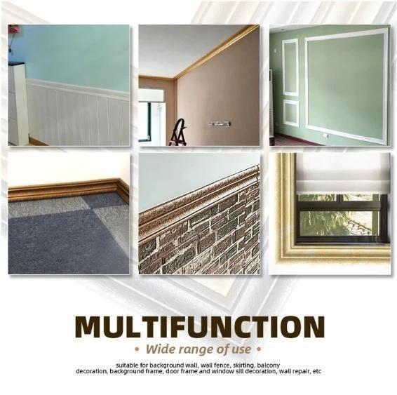 Self Adhesive 3d Wall Edging Strip 7 55 Feet Dimensional Wall 3d Wall Adhesive