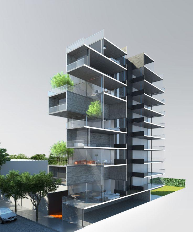 En Construcción: Edificio Dorrego 1711 / Dieguez Fridman