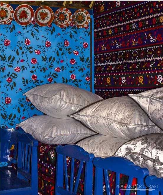 Dowry Room in the Village of Sapanta, Maramures