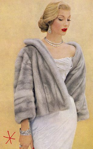 Dear Santa... I would love to have a vintage fur swing coat. Silver or sable, I'm not picky. : )