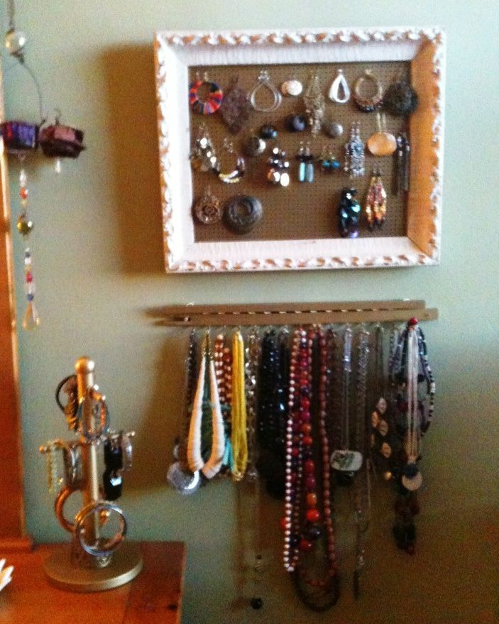 9 best jewelry holder images on Pinterest Jewelry holder Diy