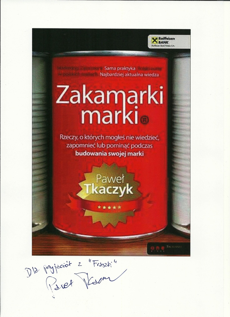Paweł Tkaczyk wie co dobre, a Ty?