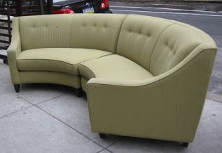 Half Round Couch | Follow Us!   Becker Furniture World   Twin Cities,  Minneapolis, St | Round Couches | Pinterest | Round Couch, Minneapolis And  Living ...