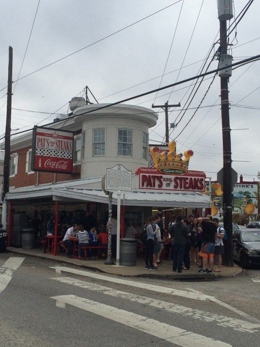 Pat's Cheesesteaks in Philadelphia- home of the original Philly Cheesesteak