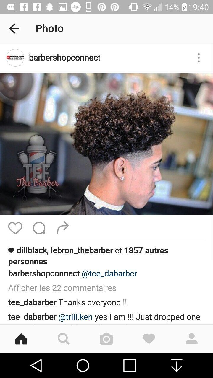 Curly black men haircuts  best men curly hairstyles images on pinterest  hair cut black