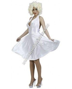 Disfraz Barato de Marilyn Monroe - 9,95€ #DisfracesBaratos #DisfracesOriginales http://casadeldisfraz.com/