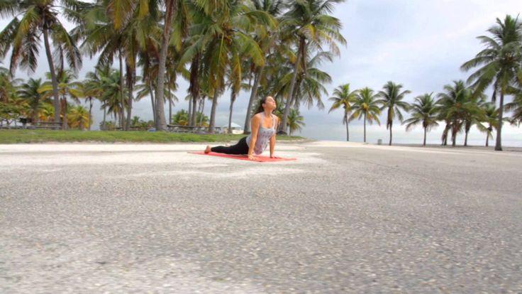 YUJ by Hélène DUVAL : Yoga in the city (Miami, FL) - YouTube