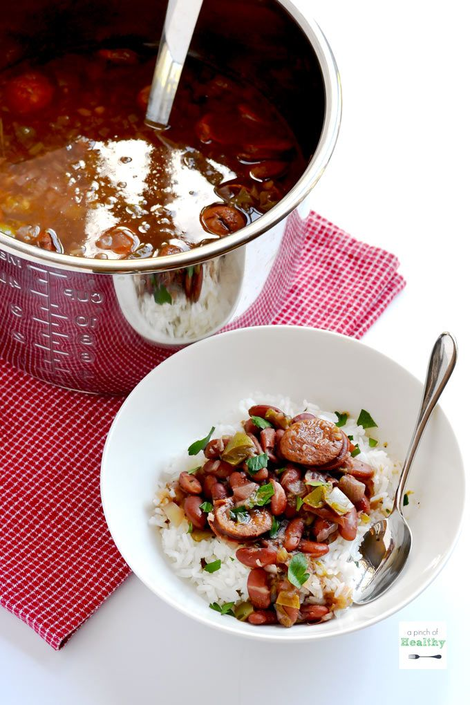 how to make red beans from a can