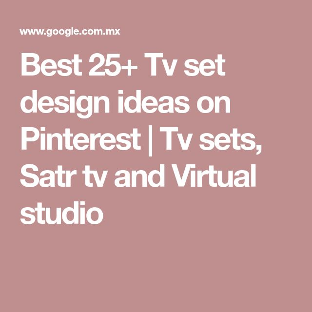 Best 25+ Tv set design ideas on Pinterest | Tv sets, Satr tv and Virtual studio