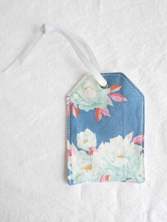 Tag Home Decor | Shabby Chic Gift Tag Home Decor Floral Gift Tag Decor