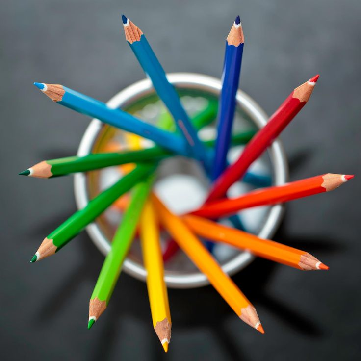 The Spiral Pencilcase - Shot of colouring pencils in a stationary holder taken using a macro lens and flash.  Post-processing in Camera Raw, NIK Viveza, NIK Color Efex Pro and Photoshop.  Re-uploaded as colour profile was wrong on initial upload - sorry!