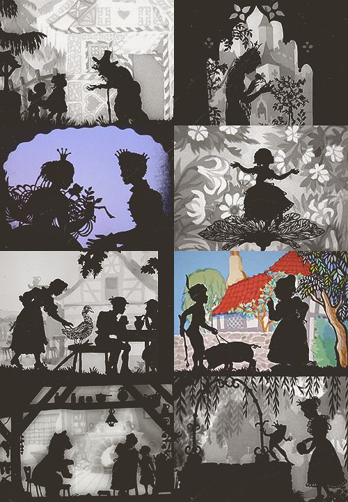 a list of favorite fairytale adaptations:Lotte Reiniger's fairy tales