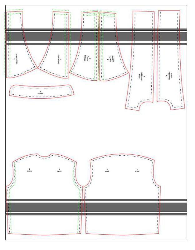 Anorak pattern