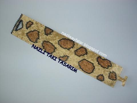 leopard. $25.00, via Etsy.