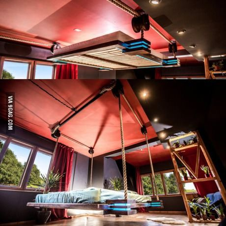 Best Modern Hanging Bed So Much Space For Activities Con 400 x 300