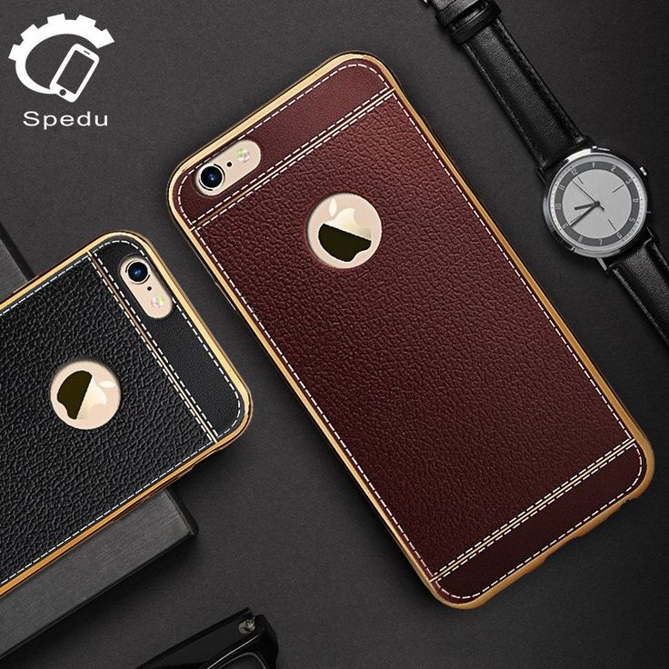 Spedu have come up with this fashionable yet protective case which combines Litchi leather and a metal plated frame. The Litchi leather makes your phone more comfortable to hold, gives extra grip and a luxury feel. The metal frame helps to protect your phone against drops, combining with the leather to create a fashionable look. Compatible with iPhone 5, 5S, 5C, SE, 6, 6 Plus, 6S, 6S Plus, 7, 7 Plus, 8 and 8 Plus, while being available in 5 different colours. Only £9.99 with Free Shipping!