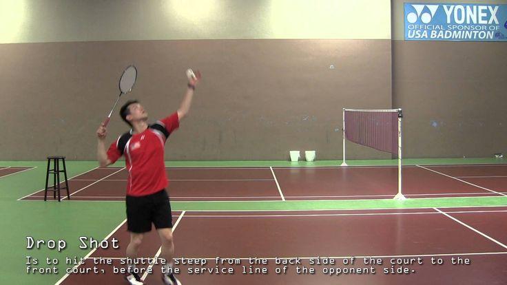Badminton Beginners - Introduction of Basic Shots in Badminton