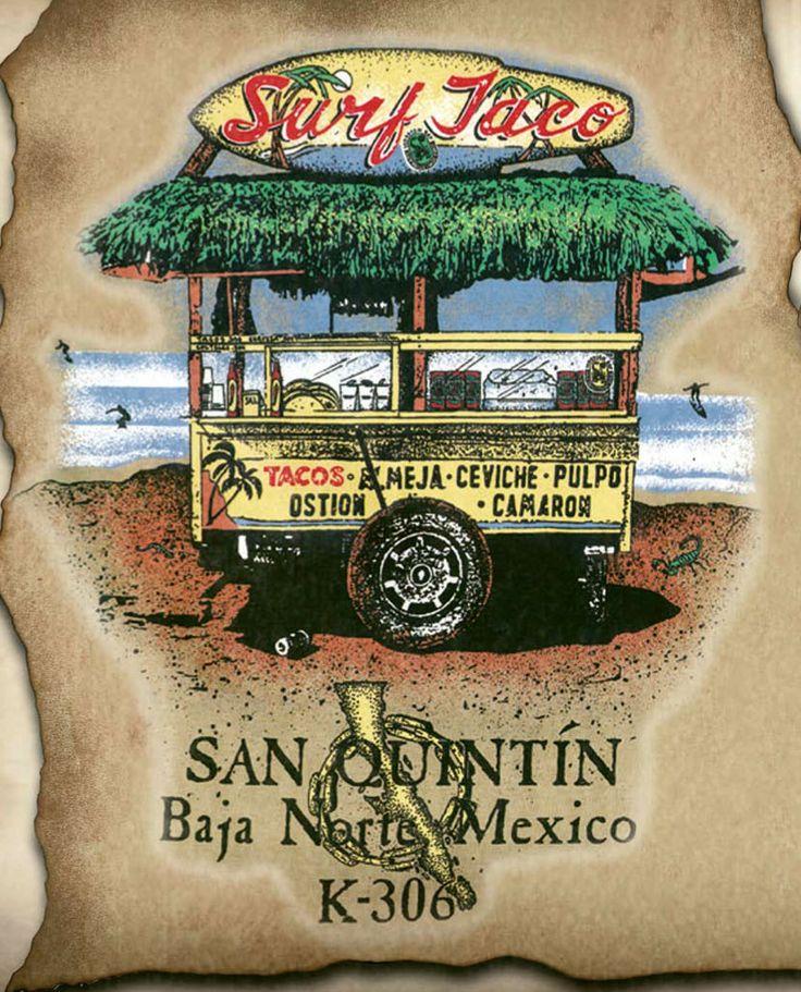 #SurfTaco #SanQuintin #Mexico #ScorpionBay