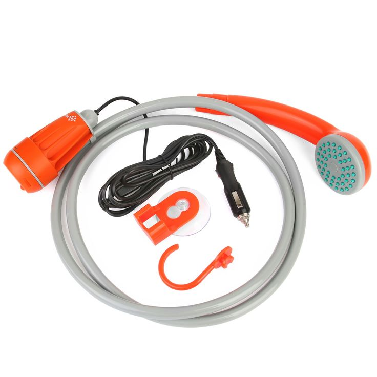 Ivation Portable 12V DC Powered Handheld Shower & Water Pump - Turns Water from Bucket/Sink Into Steady, Gentle Stream: Amazon.co.uk: Sports & Outdoors