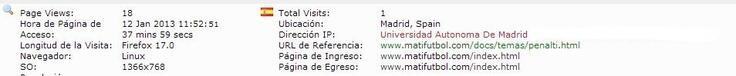 Universidad Autónoma de Madrid. Madrid, Spain