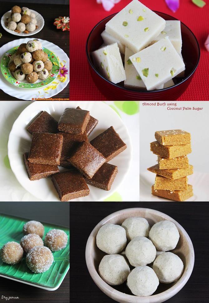 diwali sweets recipes no milk no ghee