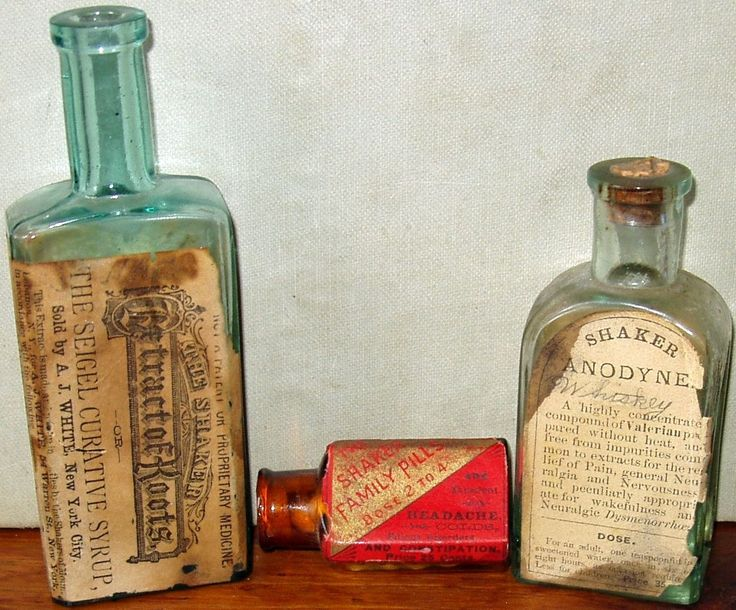 THE SEIGEL CURATIVE SYRUP. Nth ENFIELD N.H. THE SHAKER FAMILY PILLS. THE SHAKER. EXTRACT OF ROOTS. DOSE 2 TO 4. I realize the other two bottles are less rare and more easily obtainable, but I am basing the asking price on the fact the Extract Of Roots has never been seen or documented to the best of my knowledge and those experts who have seen it. | eBay!