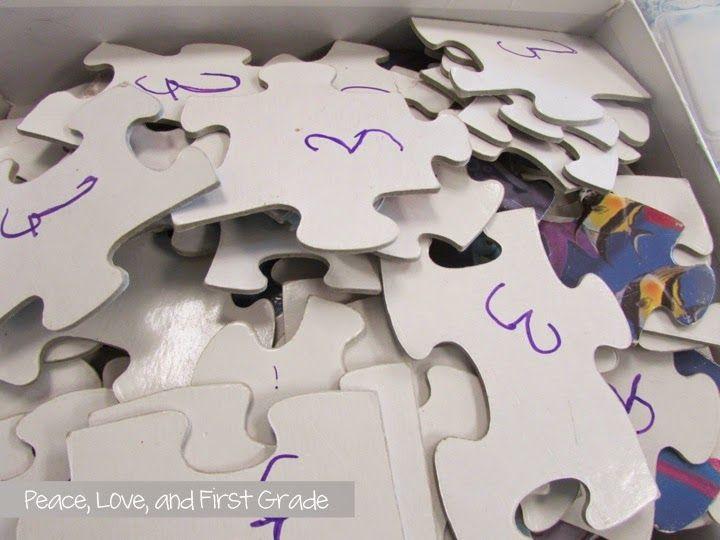 Never lose a puzzle piece again! Smart!