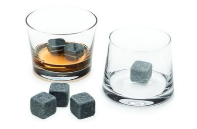 Whiskey and Stone Tumbler Set via @dotandbo