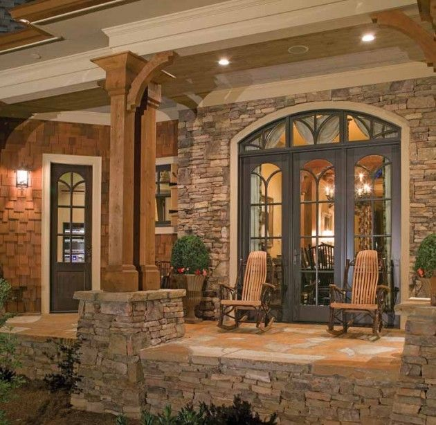 39 Cool Small Front Porch Design Ideas: 32 Best Images About Craftsman Cabin Deck Ideas On
