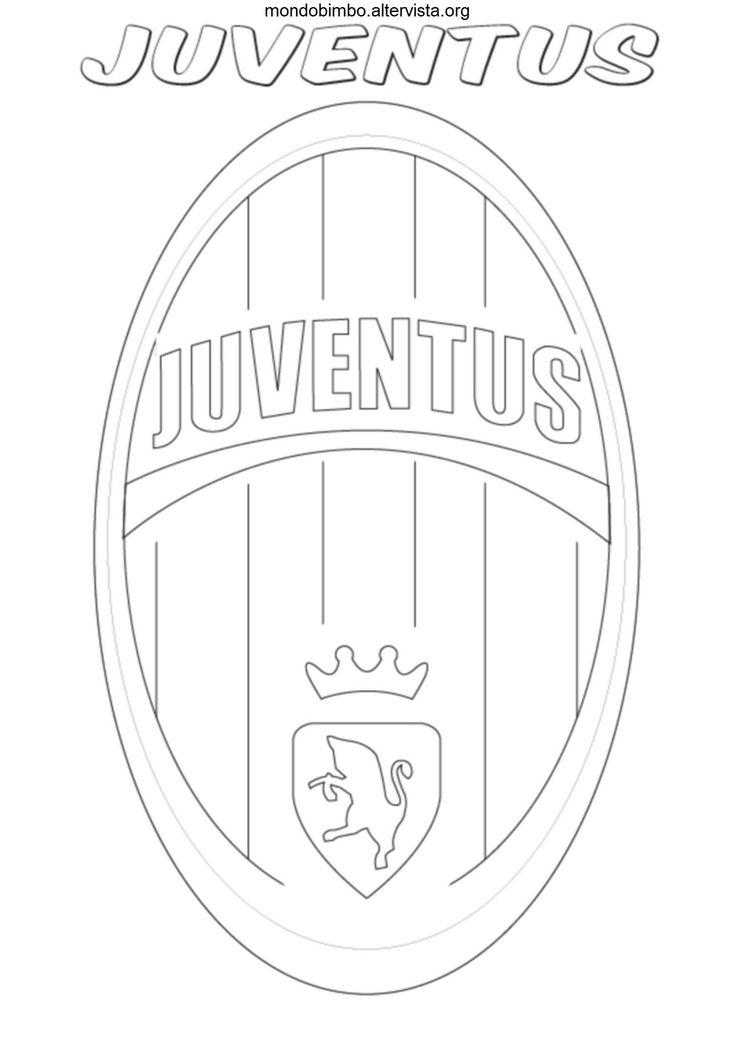 Disegno logo squadra calcio juventus colorare cakes for Disegni della roma da colorare