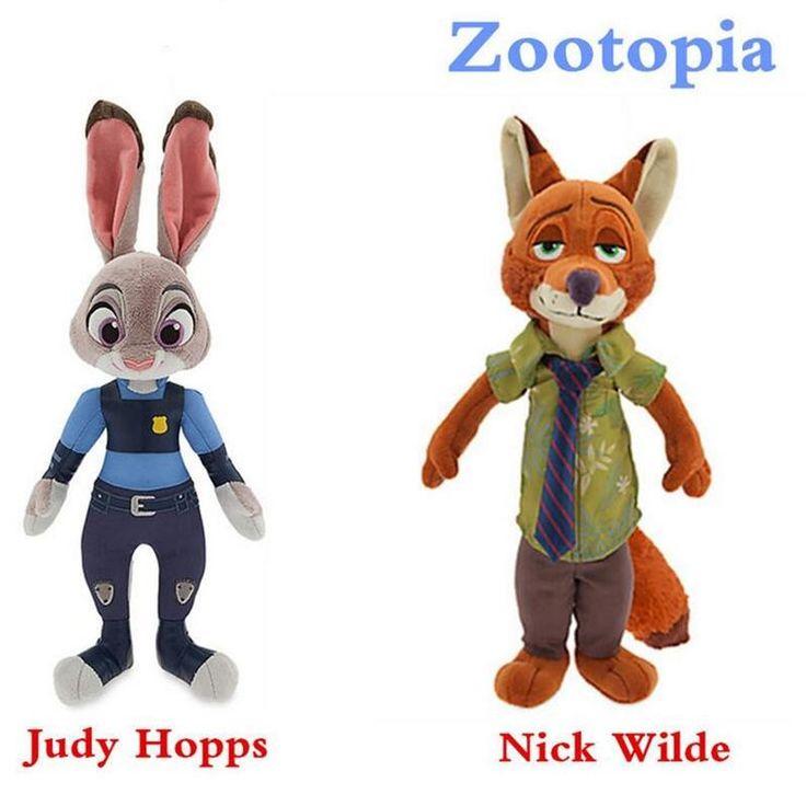 Wholesale The Latest Movie Zootopia Fox Rabbit Cute Plush