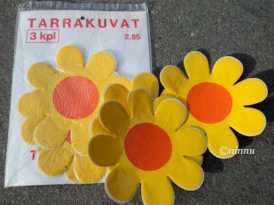 Kukkatarrat - 70-luvulta, päivää ! -blogi