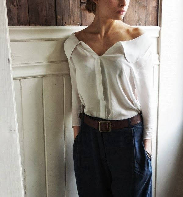 Love the off the shoulder top