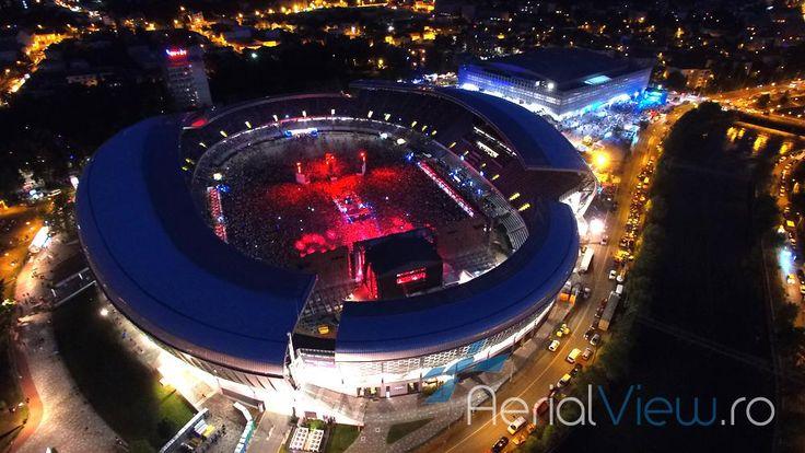 Fotografii aeriene cu drona - UNTOLD - Cluj http://aerialview.ro/fotografii-aeriene-drone-evenimente.html…
