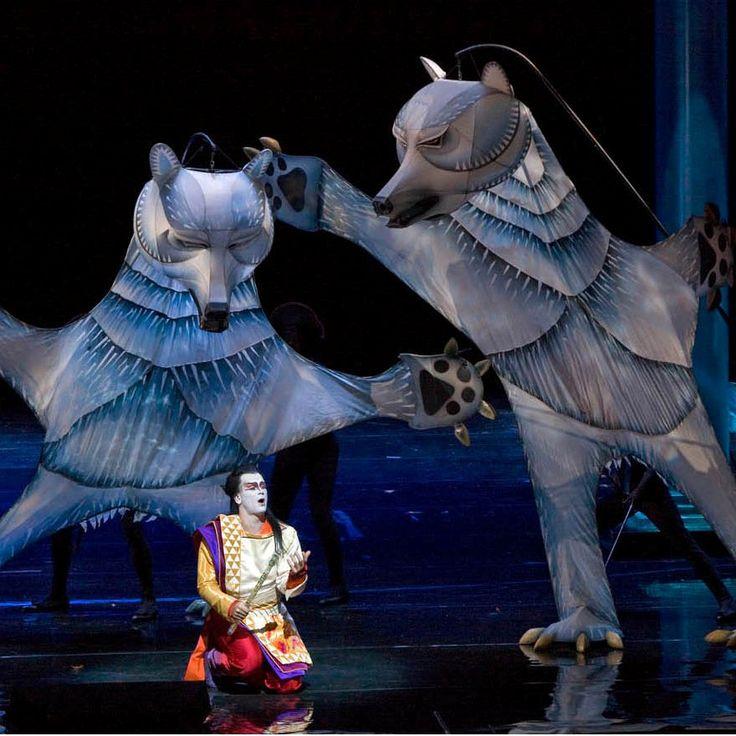 Opera Australia 2012. Melbourne Autumn Season will feature Julie Taymor's production of Mozart's The Magic Flute.