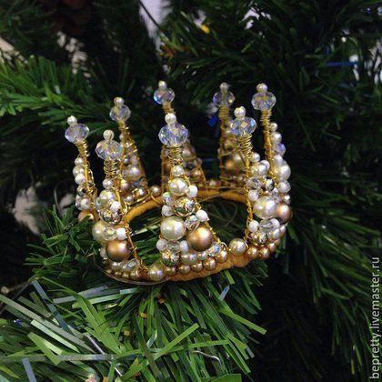 Диадемы, обручи ручной работы. Корона для принцессы. Большакова Милена магазин BePretty. Ярмарка Мастеров. Королева, красивый подарок