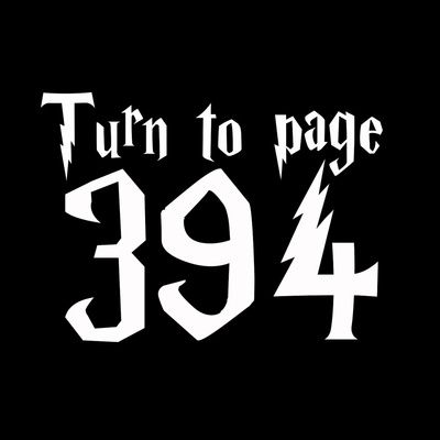 Turn to page 394 - Snape (Harry Potter) Art Print