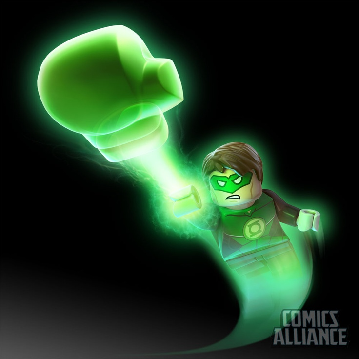 A First-Look at Green Lantern in 'Lego Batman 2: DC Super Heroes' - ComicsAlliance | Comic book culture, news, humor, commentary, and reviews