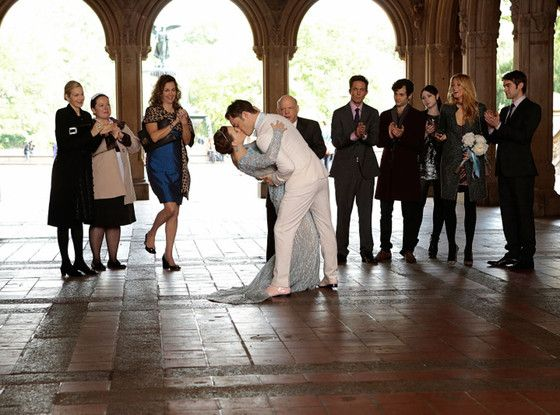 FINALLY! The wedding we were all waiting for! And Blair's dress was amazing!