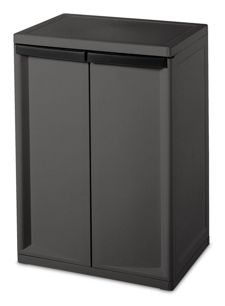 25 best ideas about garage cupboards on pinterest closet storage solutions diy garage - Simple garage storage cabinets in cool structured design ...