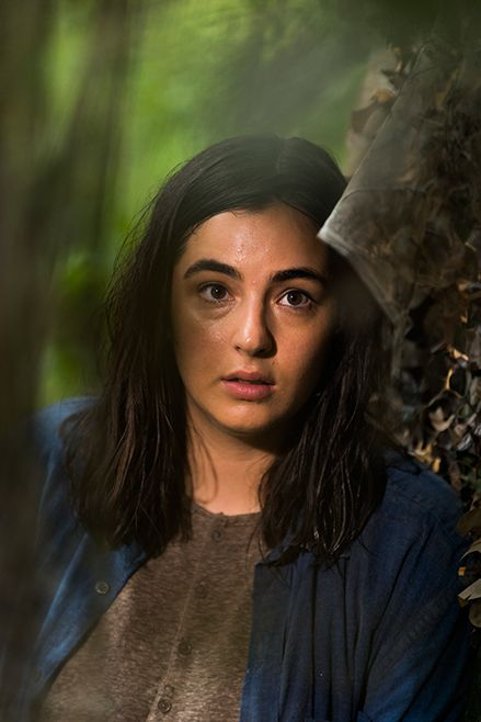 The Walking Dead S7E06 'Swear' - Tara Chambler (Alanna Masterson) watching women and children at a new community.  - Photo by Gene Page/ AMC
