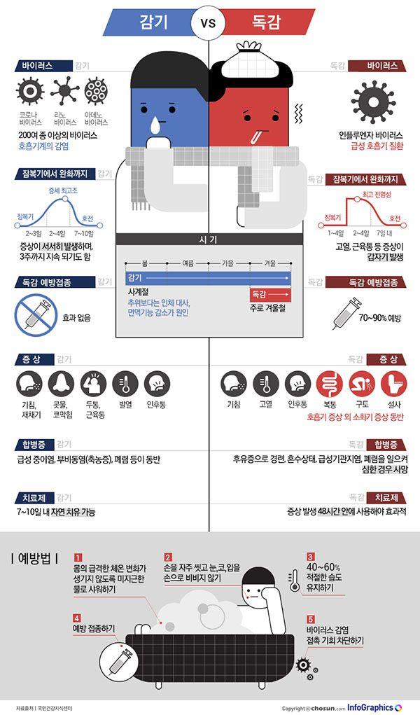[같은 듯 다른 ③] 독한 감기가 독감이다?