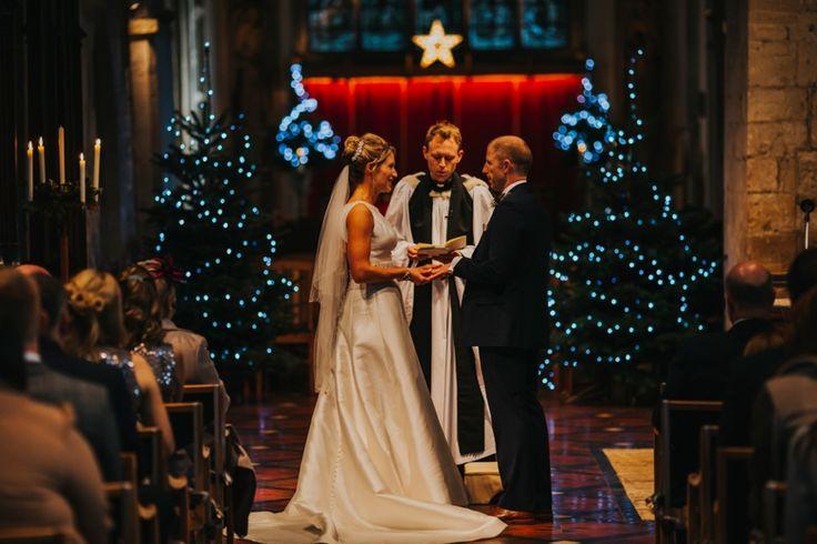Rings and vows. Photo by Benjamin Stuart Photography #weddingphotography #churchwedding #ido #weddingvows #weddingday #brideandgroom #weddingdress #justmarried