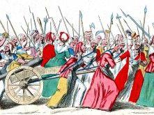 De vrouwenmars op Versailles