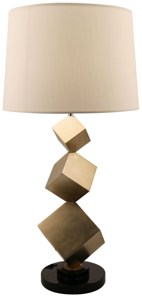 28 best r v astley contemporary lamps images on pinterest bronze cube table lamp cubelamp cubetablelamp aloadofball Images