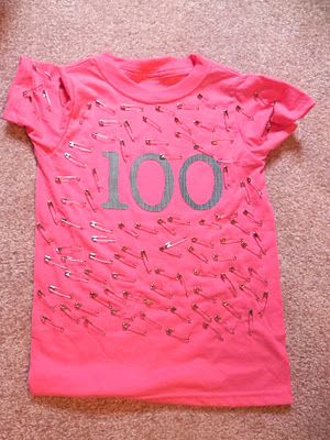 Shady Tree Diary: {100th Day of School: T-Shirt Project}