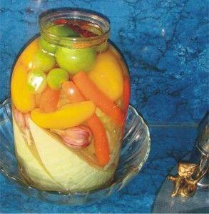 Фото к рецепту: Армянская засолка.