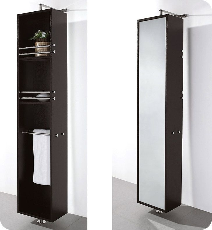 Pic On This April Rotating Wall Cabinet by Wyndham Collection screams luxury Can also be covered with